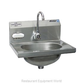 Eagle HSA-10-FE-B-NB-MG Sink, Hand