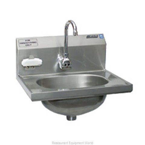 Eagle HSA-10-FE-B-NBMG Sink Hand (Magnified)