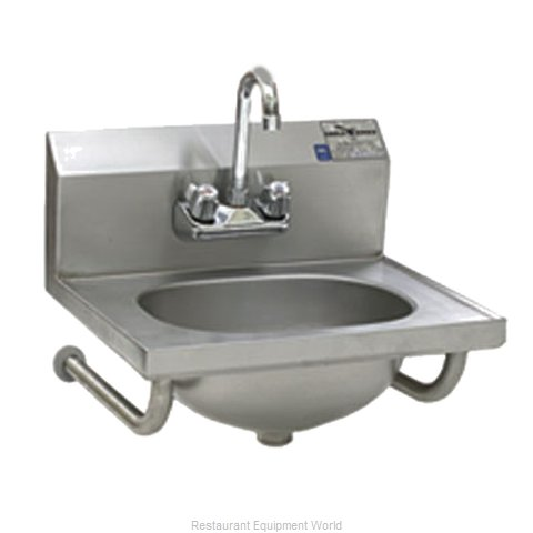 Eagle HSA-10-FTWS-2X Sink, Hand (Magnified)