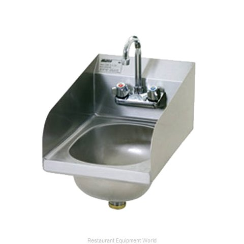 Eagle HSAN-10-F-LRS-1X Sink, Hand (Magnified)