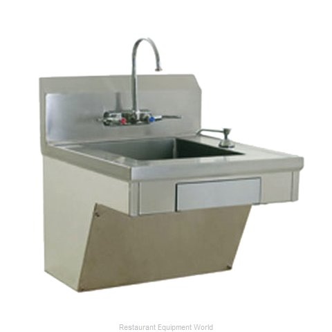 Eagle HSAP-14-ADA-FW-X Sink, Hand (Magnified)