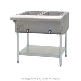 Eagle HT2-NG-2X Serving Counter Hot Food Steam Table Gas