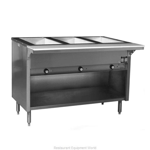 Eagle HT3OB-208-3 Serving Counter Hot Food Steam Table Electric