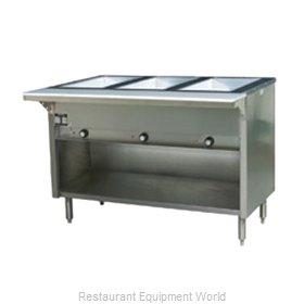 Eagle HT3OB-LP Serving Counter, Hot Food, Gas