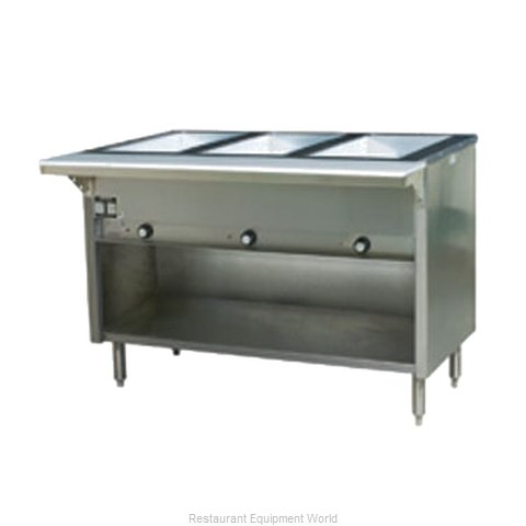 Eagle HT3OB-NG-X Serving Counter Hot Food Steam Table Gas