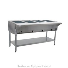 Eagle HT4-NG-2X Serving Counter, Hot Food, Gas