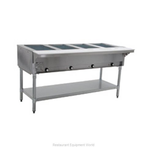 Eagle HT4-NG Serving Counter, Hot Food, Gas