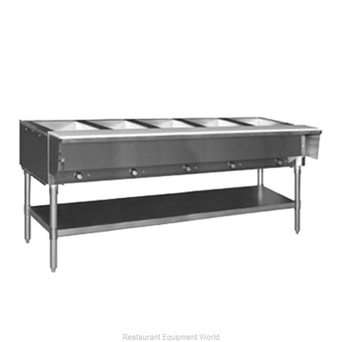 Eagle HT5-LP-2X Serving Counter, Hot Food, Gas