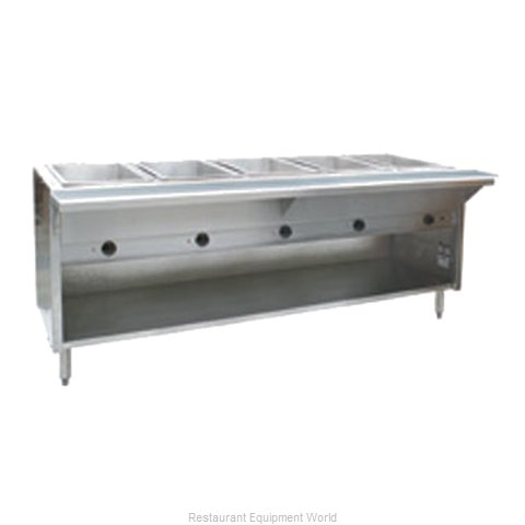 Eagle HT5OB-NG Serving Counter Hot Food Steam Table Gas