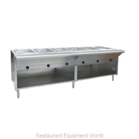 Eagle HT6OB-LP Serving Counter Hot Food Steam Table Gas