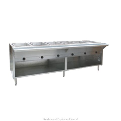 Eagle HT6OB-NG Serving Counter Hot Food Steam Table Gas