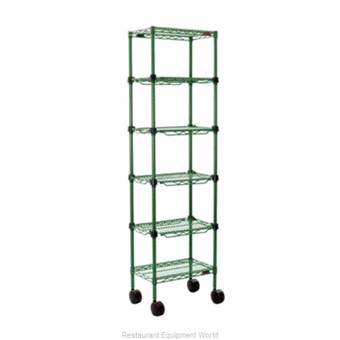 Eagle MC1430-48-4VG Merchandising Rack (Magnified)