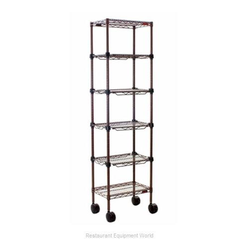 Eagle MC1436-48-4BL Merchandising Rack (Magnified)
