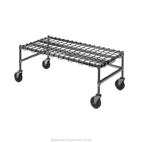 Eagle MDR2448-C Dunnage Rack, Wire Mobile