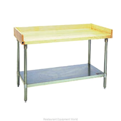 Eagle MT3060S-BS Work Table, Bakers Top