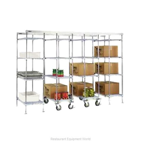 Eagle MUK24-E Track Shelving System (Magnified)