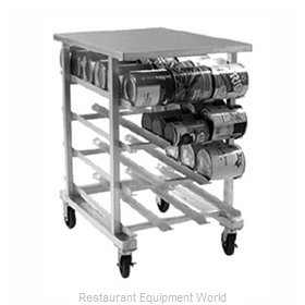 Eagle OCR-10-4A Can Storage Rack
