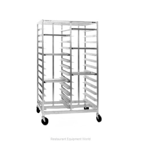 Eagle OUR-1052-4-B Rack Mobile Tray Four Compartment
