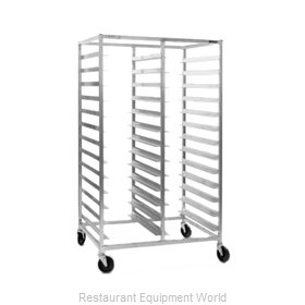 Eagle OUR-1836-3-SR Rack Mobile Tray Double Compartment