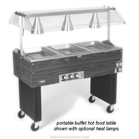 Eagle BPDHT3-240 Portable Buffet Hot Food Table (Magnified)