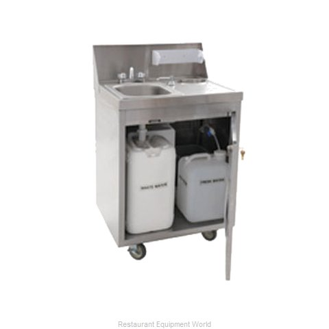 Eagle PHS-S-C Hand Sink, Mobile (Magnified)