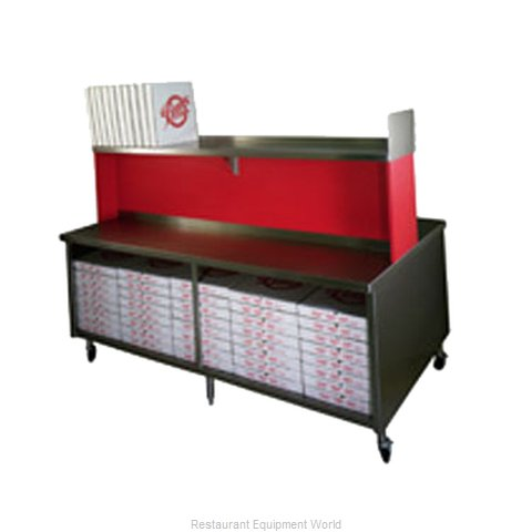 Eagle PIC60R Pizza Cut-N-Pack Table
