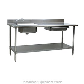 Eagle PT 3084 Work Table, with Prep Sink(s)