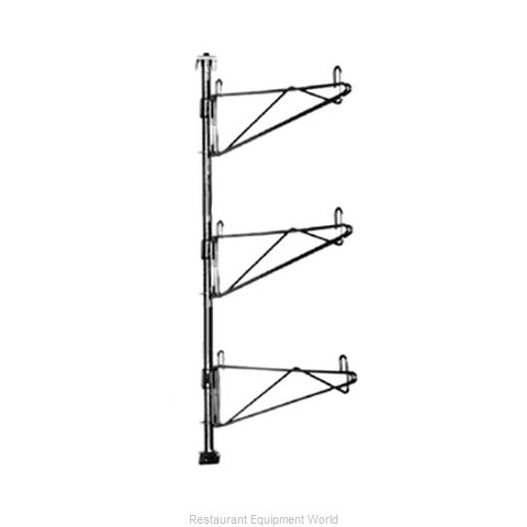 Eagle PWE18-3C Wall Mount for Shelving (Magnified)