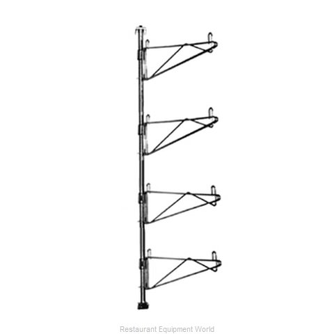 Eagle PWE24-4C Wall Mount for Shelving (Magnified)