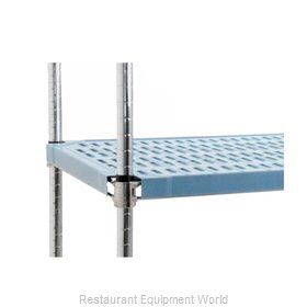 Eagle QPF-2430C-BS Shelving, Plastic with Metal Frame