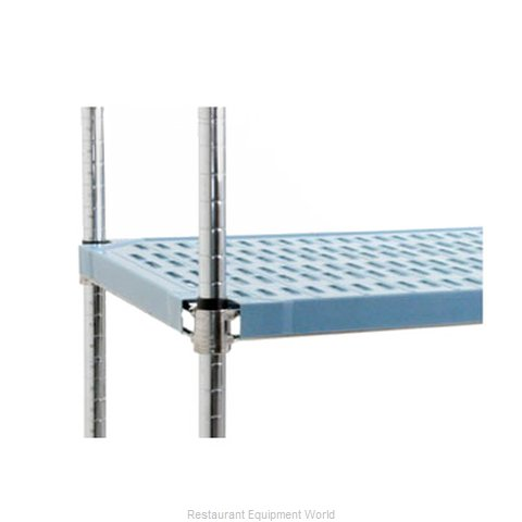 Eagle QPF-2442V-BS Shelving, Plastic with Metal Frame (Magnified)