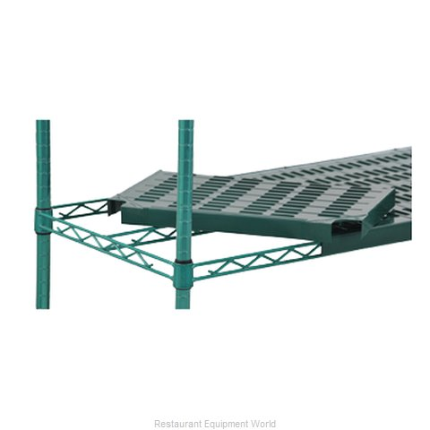 Eagle QPF-2448E-GL-X Shelving, Plastic with Metal Frame (Magnified)