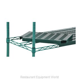 Eagle QPF-2448E-GS Shelving, Plastic with Metal Frame