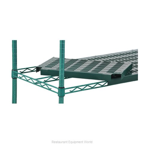 Eagle QPF-QA2472VGGL-X Shelving Plastic with Metal Frame