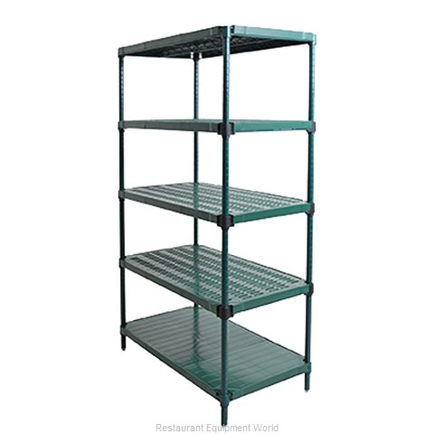 Eagle QPSU1848VG-G5-74 Shelving Plastic with Metal Frame