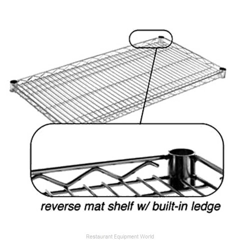 Eagle RM1448BL Shelving Wire Inverted