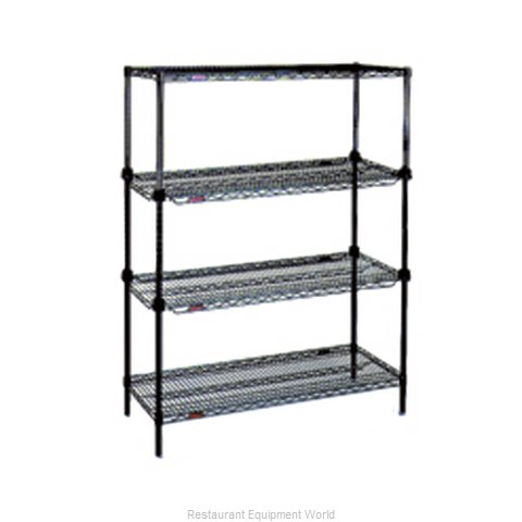 Eagle RS4-63-A1836BL Shelving Unit, Wire (Magnified)