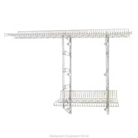 Eagle S1-3B-SSW1848C Shelving Wall-Mounted
