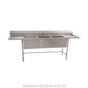 Eagle S14-20-3-18L-SL Sink, (3) Three Compartment