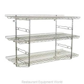 Eagle S2-3B-SSW1824C Shelving, Wall-Mounted