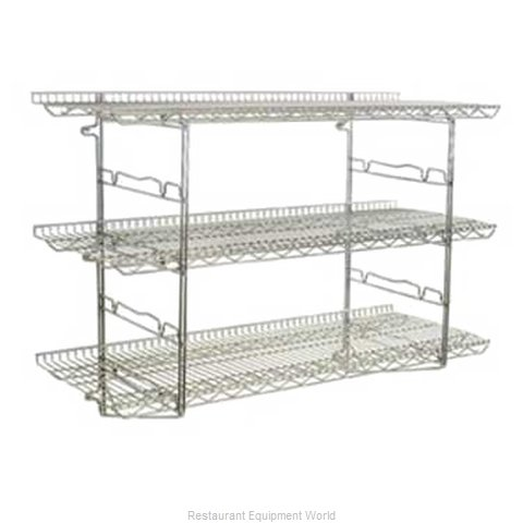 Eagle S3-3B-SSW1824C Shelving, Wall-Mounted