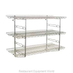 Eagle S4-5B-SSW1860C Shelving, Wall-Mounted