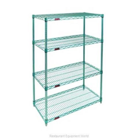 Eagle S4-74-2436E-X Shelving Unit, Wire (Magnified)