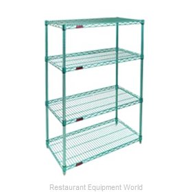 Eagle S4-74-2436E-X Shelving Unit, Wire