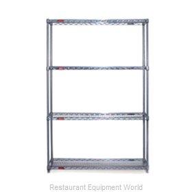 Eagle S4-74-2442V Shelving Unit, Wire