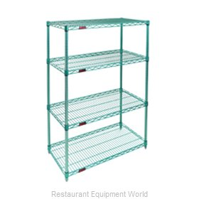 Eagle S4-74-2448E Shelving Unit, Wire