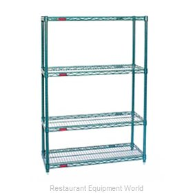 Eagle S4-74-2448VG-X Shelving Unit, Wire