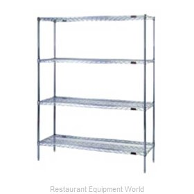 Eagle S4-74-2448Z Shelving Unit, Wire