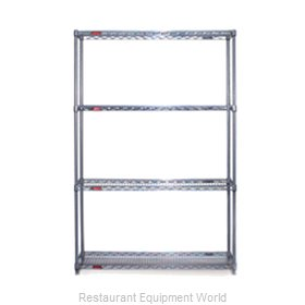 Eagle S4-74-2460V-X Shelving Unit, Wire