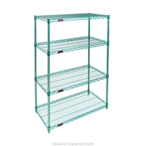 Eagle S4-74-2472E-X Shelving Unit, Wire (Magnified)